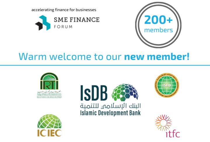 Islamic Development Bank Group (IsDBG) joins the SME Finance Forum global network