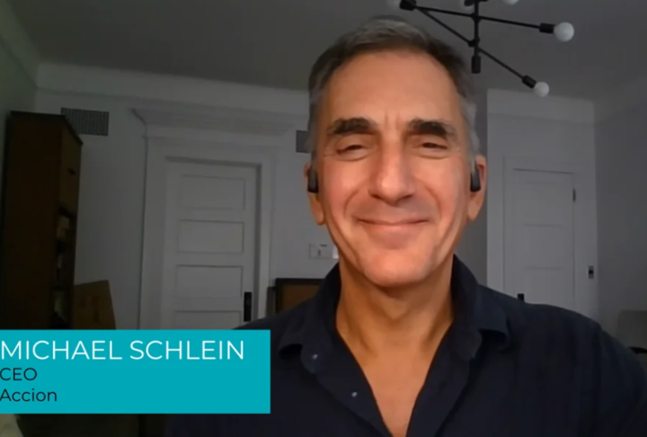 Image of Video Interview with Michael Schlein, CEO of Accion
