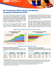 IFC Financing to Micro, Small, and Medium Enterprises Globally (FY2013)